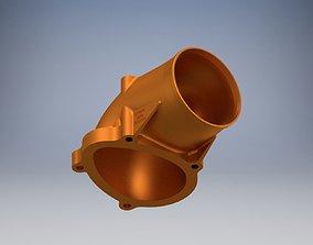 3D print model C20xe Powercap 80 mm no fitting RIGHT PIPE