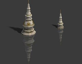 institute Zen - Minaret 3D model