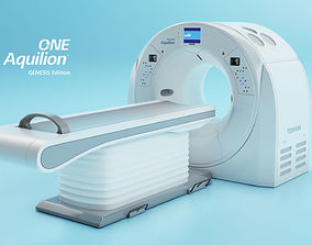 3D asset Aquilion ONE GENESIS CT scanner