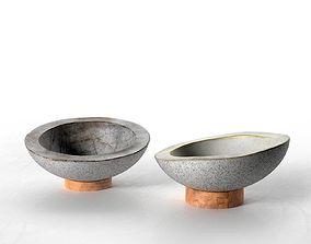 3D model Concrete Bowls Nr2