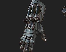 Gloves Scifi ver 8 3D asset realtime