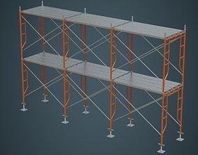 3D asset Scaffold 2A