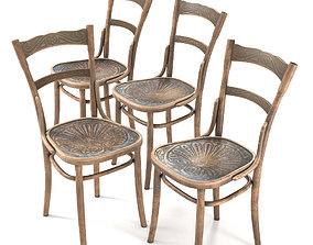 Jacob and Josef Kohn Viennese chairs 3D model