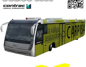 3D model Cobus 3000 Caprisa paint