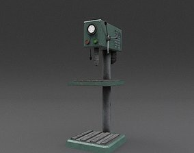 Machine 01 Weathered 3D model