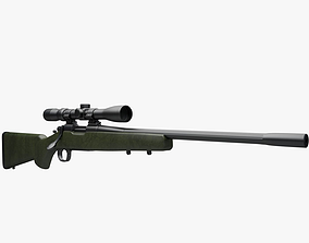 3D Remington 700 xcr 3x9 scope