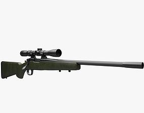 3D Remington 700 xcr 3x9 scope