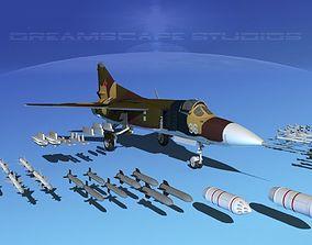 Mig 23 Flogger B V02 USSR 3D