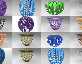 Lampshade collection for 3d printing