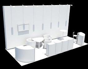3D model Exhibition stand design