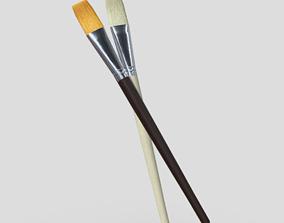 Paint Brush 3D model VR / AR ready