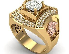 3D print model 363 Versace Diamond Ring