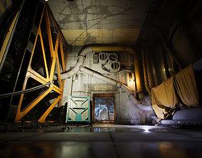 3D asset Industrial Kitbash and Coal Mine Set