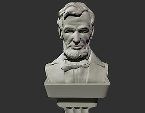 Abraham Lincoln Bust 3D printable model