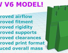 3D printable model v6 -Nintendo Switch Dock Cooling Mod