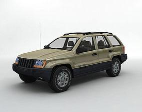 2000 Grand Cherokee Loredo SUV 3D model
