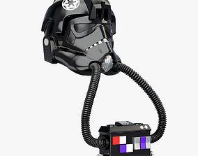 3D model Star Wars Imperial TIE Pilot Helmet