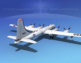 3D model Boeing B-50 Superfortress V05