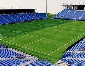 3D model Saputo Stadium - Montreal Canada