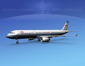 3D Airbus A321 KNG