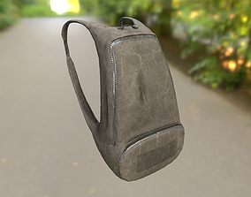 3D asset Backpack LOW-POLY PBR