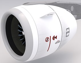 3D model Airbus Engine cfm