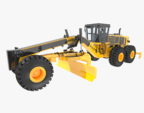 3D asset Motor Grader
