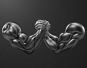 armwrestling 3D model Arm-Wrestling