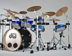 roland 3D Drum set
