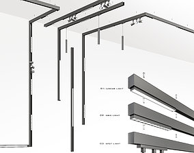 3D Magnetic -Track-light ceiling