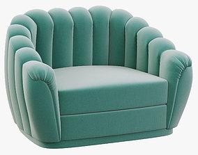 Brabbu Oreas Single Sofa 3D