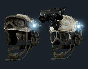 Military Helmet 02 Game Ready 3D model