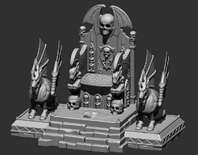3D printable model Magewrath Throne