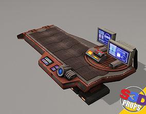 Scifi repair table 3D model