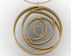 rose necklace 3D printable model