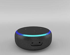 3D model Amazon Echo Dot 3rd Generation 2018 - Charcoal