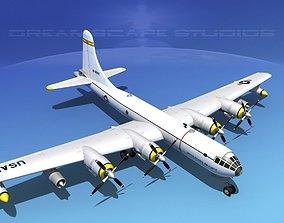 3D model Boeing KB-50 Superfortress Tanker V01