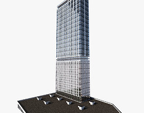 3D Highrise Residential Building