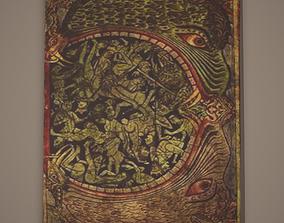 3D model Medieval Monsters Painting