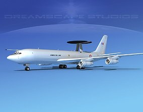 Boeing E-3B French Air Force 3D model