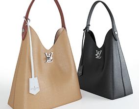 3D Louis Vuitton Women leather handbag