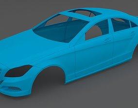 Clean Scan Mercedes-Benz CLS - 3D printable model