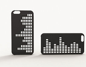 Iphone 6 case - Equalizer 3D printable model