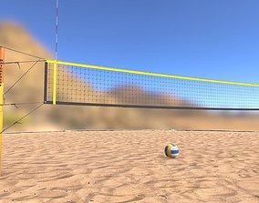 3D model Beach Volleyball Set