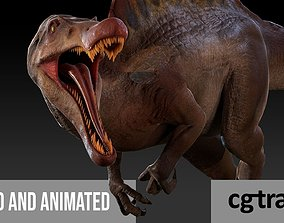 Spinosaurus For your Games or Animations animated 3