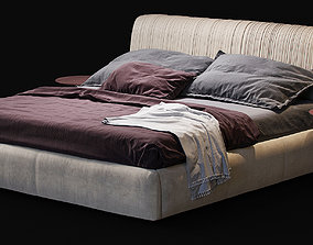 3D model BAXTER Alfred special edition bed