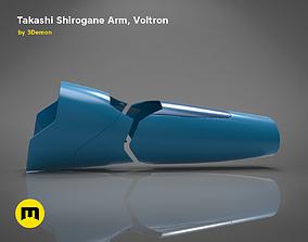 3D printable model Takashi Shirogane Arm from Voltron