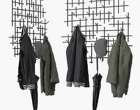 Marlow coat rack 3D