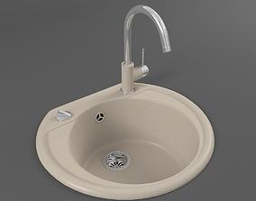 Kitchen sink 03 3D