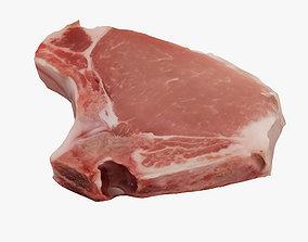 3D model Steak rib